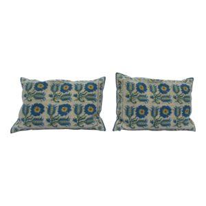 1940s-mediterranean-blue-and-white-wool-lumbar-pillows-a-pair-1263