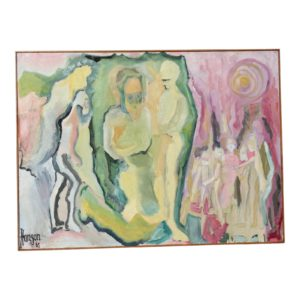 1960s-vintage-abstract-figurative-oil-painting-1780