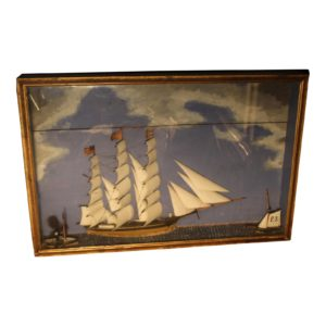 19th-c-antique-american-sailing-ship-model-painting-1420