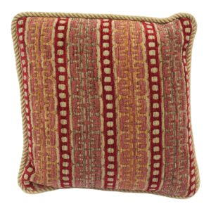 20th-century-contemporary-burgundy-and-gold-upholstered-decorative-pillow-4594