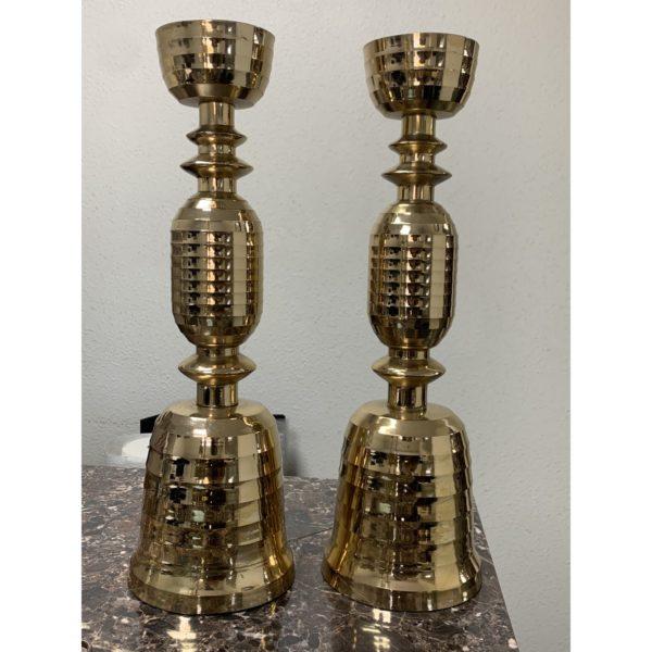 beehive-motif-mid-century-brass-candlesticks-a-pair-3581