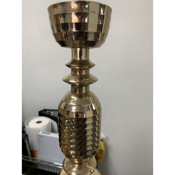beehive-motif-mid-century-brass-candlesticks-a-pair-4372