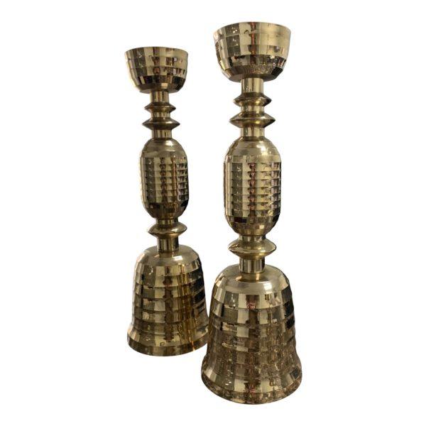 beehive-motif-mid-century-brass-candlesticks-a-pair-8013 (1)