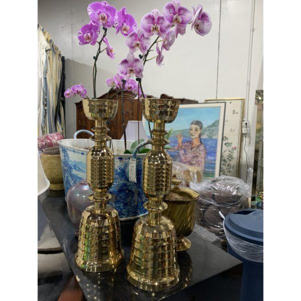 beehive-motif-mid-century-brass-candlesticks-a-pair-8260