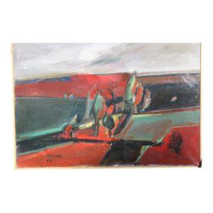 belgrade-vece-oil-painting-by-milun-mitrovic-7265