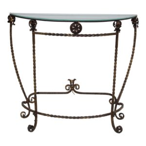 1920s-italian-glass-top-gold-leaf-painted-wrought-iron-demi-lune-accent-table-9401