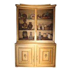 1940s-vintage-grosfeld-house-lacquered-parchment-china-cabinet-1339