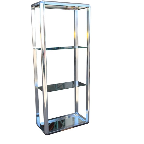 1970s-chrome-mirrored-display-case-stand-3031