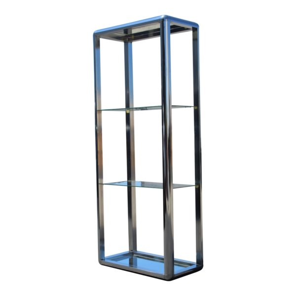 1970s-chrome-mirrored-display-case-stand-4007