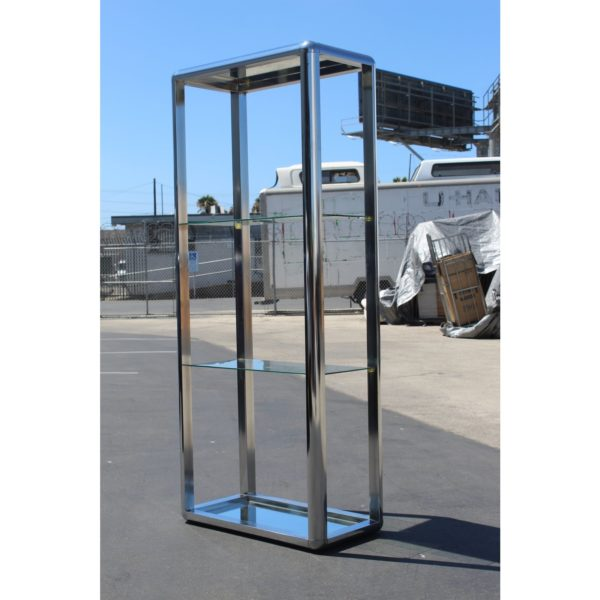 1970s-chrome-mirrored-display-case-stand-6833