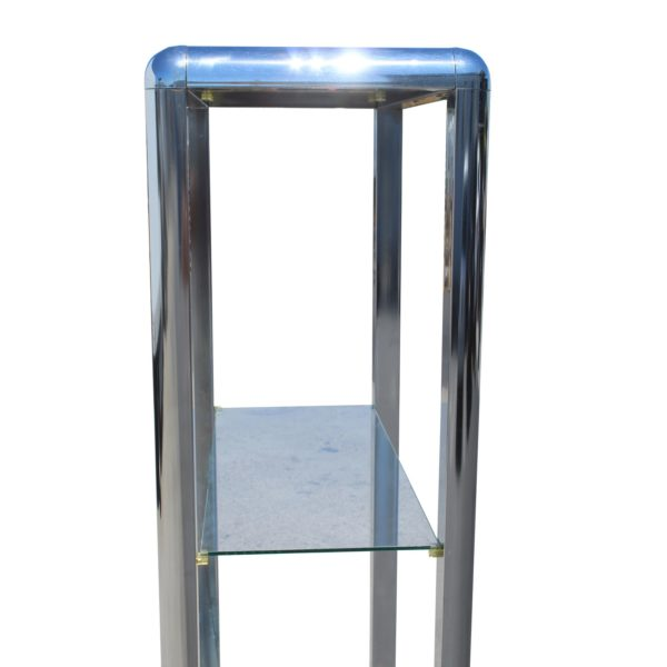 1970s-chrome-mirrored-display-case-stand-8420
