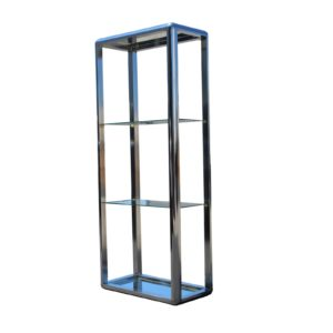 1970s-chrome-mirrored-display-case-stand-9167
