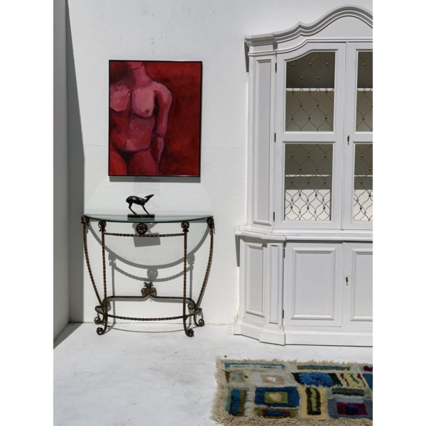 20th-century-oil-painting-of-a-male-figure-in-bold-reds-by-carrie-repking-6173