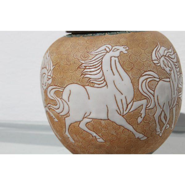 chinese-art-deco-prancing-horses-motif-porcelain-covered-jar-or-urn-1489