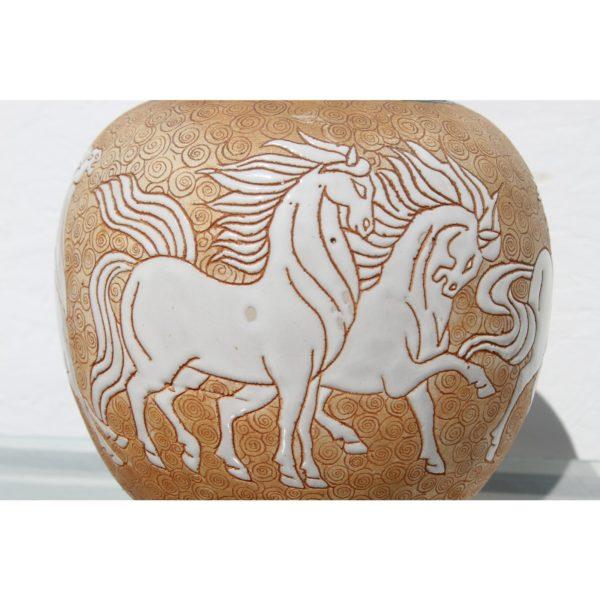 chinese-art-deco-prancing-horses-motif-porcelain-covered-jar-or-urn-1949