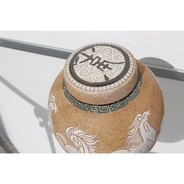 chinese-art-deco-prancing-horses-motif-porcelain-covered-jar-or-urn-5255