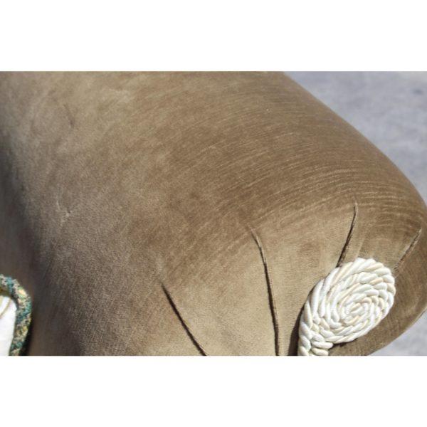green-down-velvet-volour-silk-tassels-loveseat-4184