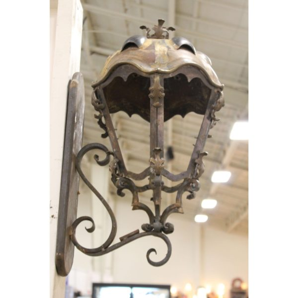 metal-and-copper-sconces-handcrafted-from-budapest-with-turtle-back-top-a-pair-1979