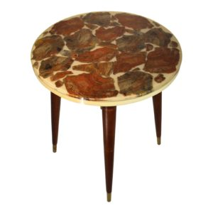 mid-century-modern-bespoke-fossilized-marble-round-side-table-3512
