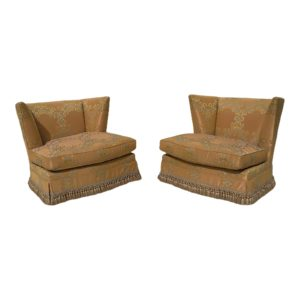 Hollywood Regency Club Chairs