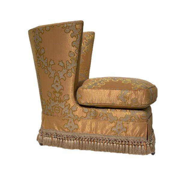 Hollywood Regency Club Chairs