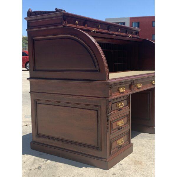Victorian Beaurocylander Rolltop Desk
