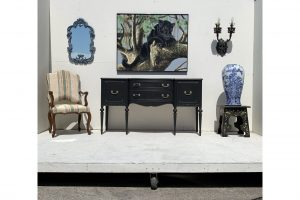 1940s-traditionalpainted-grey-sideboard-3085