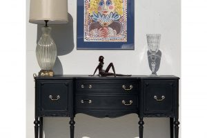 1940s-traditionalpainted-grey-sideboard-8257