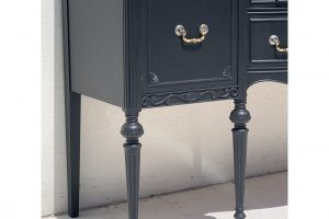1940s-traditionalpainted-grey-sideboard-8600