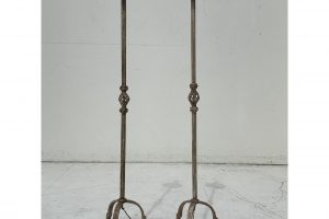 Wrought Iron Floors - A Pair