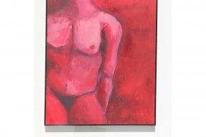 20th-century-oil-painting-of-a-male-figure-in-bold-reds-by-carrie-repking-2790