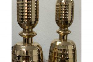 beehive-motif-mid-century-brass-candlesticks-a-pair-5046