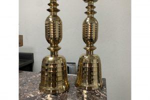 beehive-motif-mid-century-brass-candlesticks-a-pair-8853