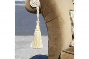 green-down-velvet-volour-silk-tassels-loveseat-8950