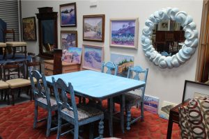 shabby-chic-cottage-style-blue-and-cream-round-mirror-4349